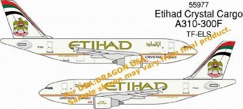 ETIHAD CRYSTAL CARGO A310-300F 1-400 Dragon Wings