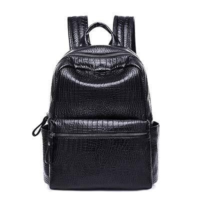 2492a71ed1f9 2018 Women Backpacks Pu Leather Daypack Female Big Travel Sac a Dos Back  Pack Bag College