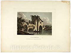 Ponte Nomentano, plate twenty-seven from Ruins of Rome       We print high quality reproductions of historical maps, photographs, prints, etc. Because of their historical nature, some of these images may show signs of wear and tear - s...