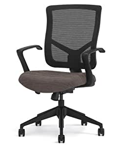 Highmark 607-S2-A7 Bolero Swivel Tilt Chair Periwinkle Dark Grey