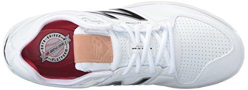 New Balance pour homme L3000V3Baseball Chaussure - Blanc - White/white,