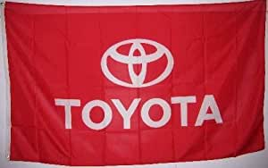 TOYOTA FLAG - - - 3ft by 5ft - - Toyota car -- poster