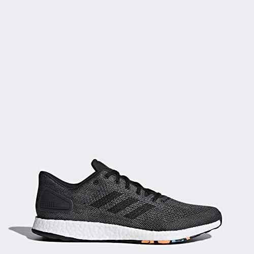 adidas Men's Pureboost DPR Running Shoe, Black/Black/Grey, 11.5 M US