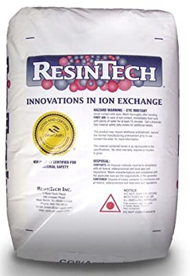 ResinTech High Capacity Water Softener Resin (1 Cu. Ft.)