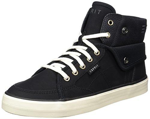 Esprit Star Bootie, Zapatillas Altas para Mujer Negro (black 001)