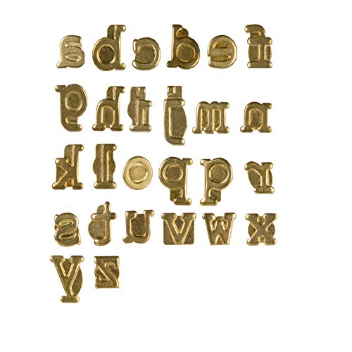 Walnut Hollow 41004 Hotstamps Lowercase Alphabet