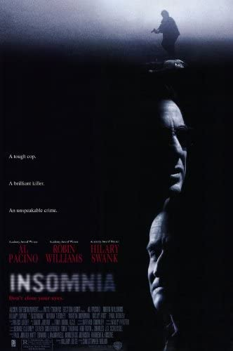 Amazon.com: Insomnia Poster Movie 11x17 Al Pacino Robin Williams Hilary  Swank Maura Tierney: Furniture & Decor