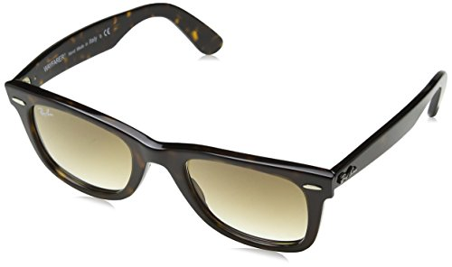 Ray-Ban 0RB2140 Original Wayfarer Sunglasses, Tortoise, - Wayfarer 2140 50mm