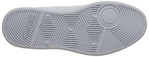 Reebok Club de la zapatilla de deporte clásico Memt White-Glen Green