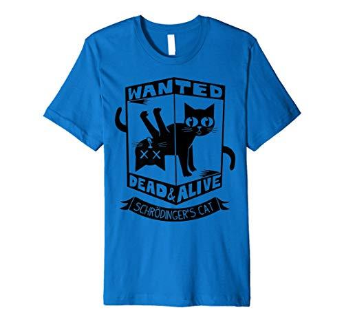 (Cat lover t-shirt schrodingers cat t-shirt funny cat t-shirt)