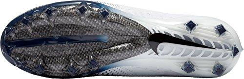 Nike Mens Vapore Intoccabile 3 Pro Tacchetti Da Calcio Bianco / Blu Scuro