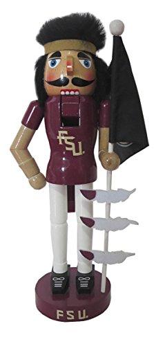 092 Florida State Mascot & flag Nutcracker, 12