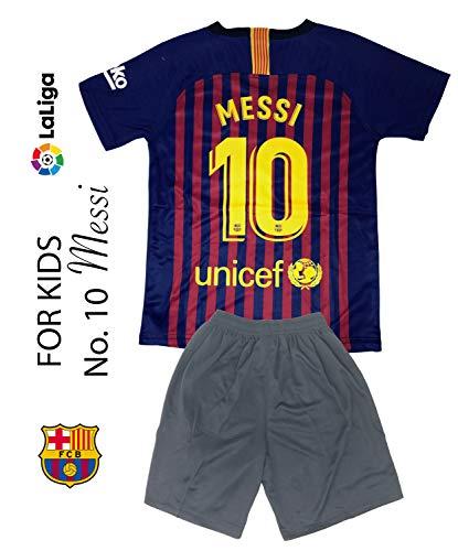9b2f66abc Amazon.com   The Soccer Jersey and Short for Kids on Season 2019 - Best  Soccer KIT for Kids - Juventus Ronaldo 7 - Barcelona FC 10 Messi - Real  Madrid 10 ...