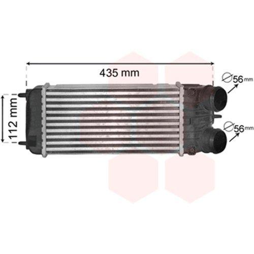 VAN WEZEL 40004353 Intercooler