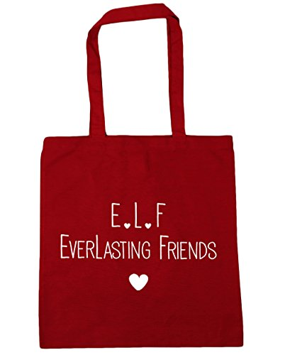 Beach l Shopping f HippoWarehouse 10 litres Tote Classic Bag everlasting friends Red 42cm x38cm Gym e xY85qH5w