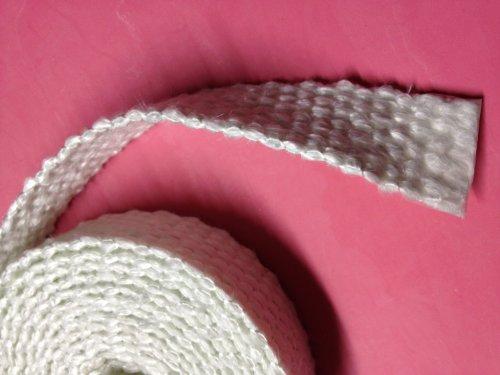 - Flat Gasket Braided Fiberglass Rope 1/8