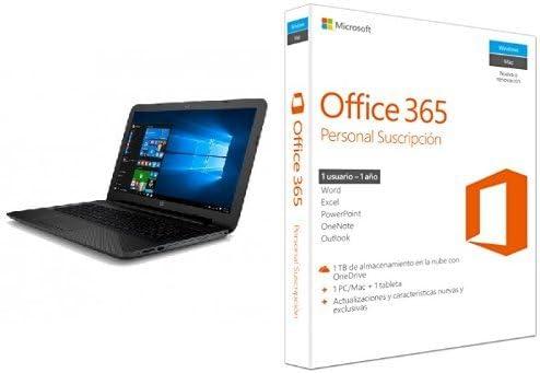HP 15-AY005NS - Portátil de 15,6