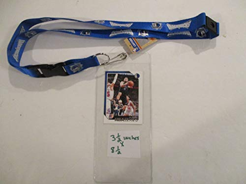 Tickets Mavericks - DALLAS MAVERICKS LANYARD AND TICKET HOLDER PLUS COLLECTIBLE PLAYER CARD