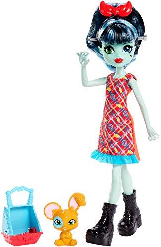 Monster High Monster Family Alivia Stein Fashion Doll & Pet Hybrid Bunny Mouse (Monster High Hybrid)
