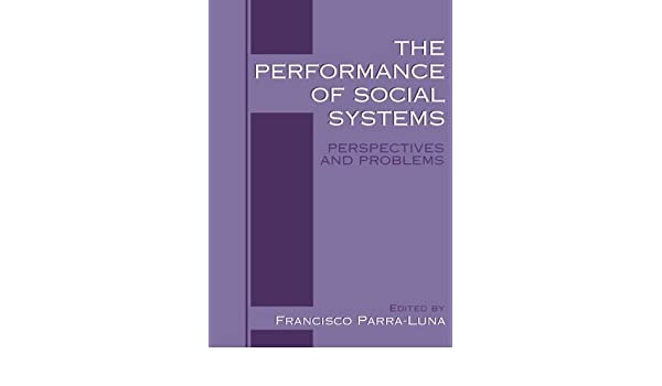 The Performance of Social Systems: Perspectives and Problems