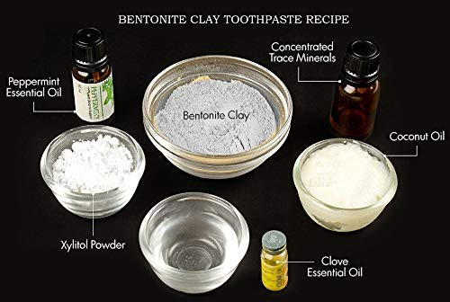 Amazon.com: Arcilla de bentonita – 100% puro Polvo fino ...