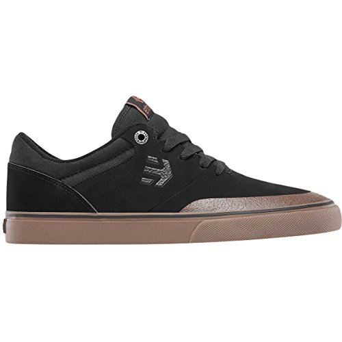 Etnies Mens Men's Marana Vulc Skate Shoe, Black/Gum/Dark Grey, 8.5 Medium US
