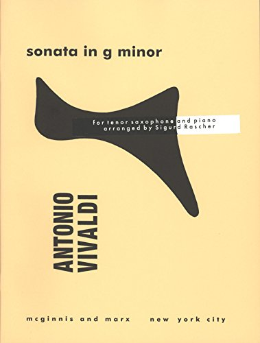 (Vivaldi: Sonata in G Minor (arr. for tenor sax))