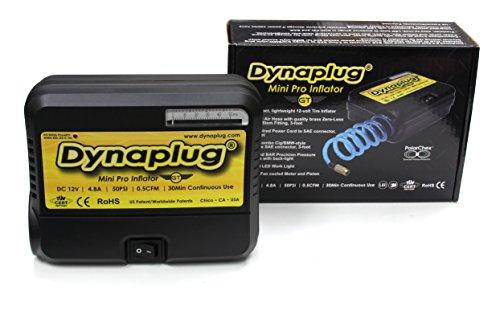 Dynaplug 12 Volt Inflator Tire Pump - Mini Pro