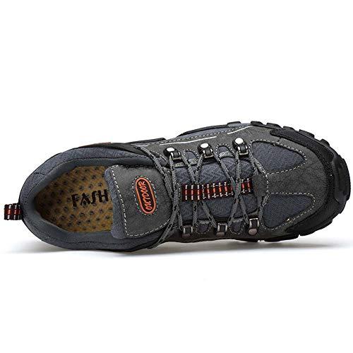Plein Pour Femmes Randonnée Chaussures Gongff Gray Antidérapantes De Air EqwWOnSv