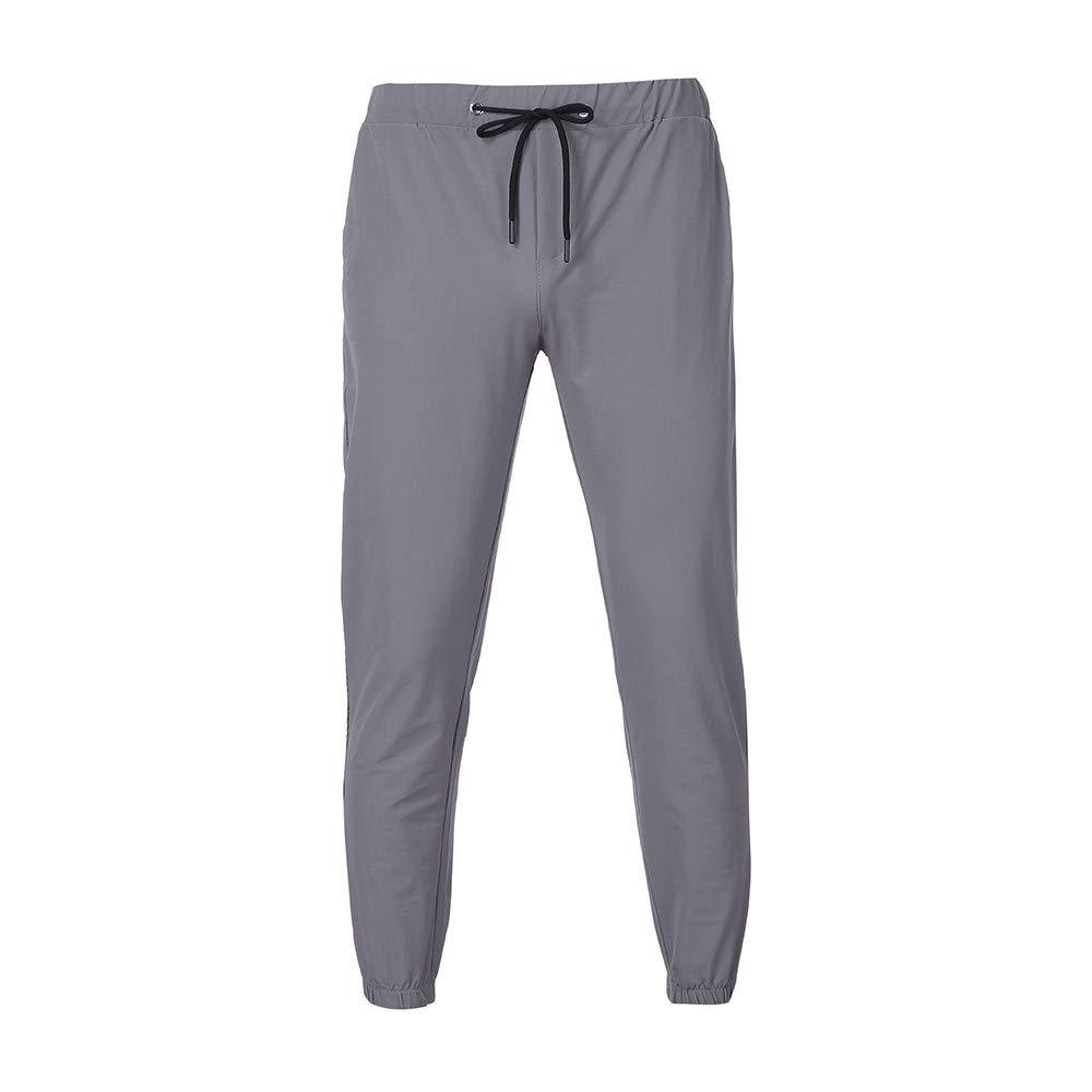 Rawdah_Pantalones Hombre Hombre Casual Sportwear Baggy Jogger ...