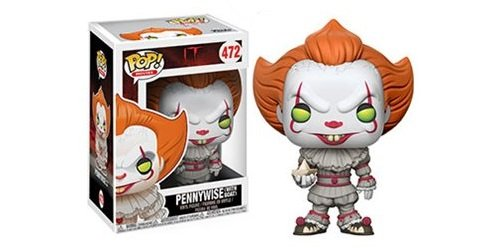 Stephen King It Costume (Stephen King's It Pennywise Clown Pop! Vinyl Figure and (Bundled with Pop BOX PROTECTOR CASE))