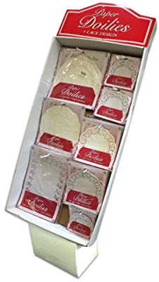Paper Lace Doilies Display Case Pack 240 Home Kitchen Furniture Decor
