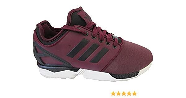 adidas ZX Flux NPS 2.0 Hombre Zapatillas Running Zapatillas - Granate/CBLACK/CBROWN M21614, UK 11.5 US 12 EU 46 2/3: Amazon.es: Zapatos y complementos