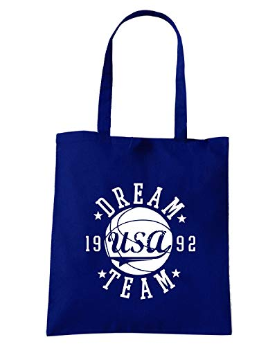 Navy TEAM 2012 FUN0187 26 92 07 DREAM Shopper Borsa Blu pqHUE