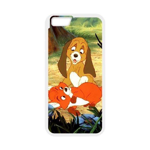 Fox And The Hound 006 coque iPhone 6 Plus 5.5 Inch Housse Blanc téléphone portable couverture de cas coque EOKXLLNCD09290
