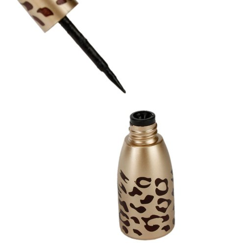 SODIAL(TM) New Leopard Shell Waterproof Liquid Eye Liner Eyeliner Pen Makeup Cosmetic Black