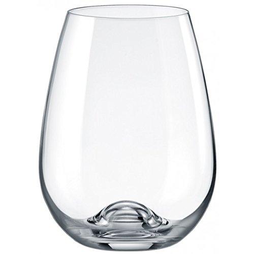 rona-slovakia-lead-free-crystal-red-wine-stemmless-glass-set-of-4