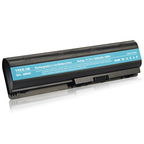 (593553-001 Battery,Tree.NB Replacement for HP MU06 MU09 Notebook Battery Compaq Presaio CQ32 CQ42 CQ43 CQ430 CQ56 CQ62 CQ72 Series;HP Envy 17 HP Pavilion DM4, 6-Cell / 58Wh)