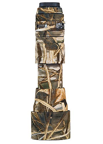 LensCoat Cover Camouflage Neoprene Camera Lens Cover Protection Sigma 150-600mm F/5-6.3 DG OS HSM, Realtree Max4 (lcs150600cm4)