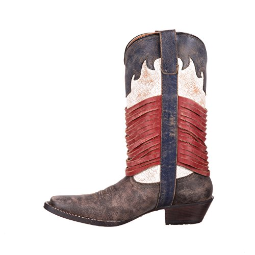 Dream Durango Womens Western Boot Wrapped Americana Catcher Fringe DRD0212 12 qEqCwfH7