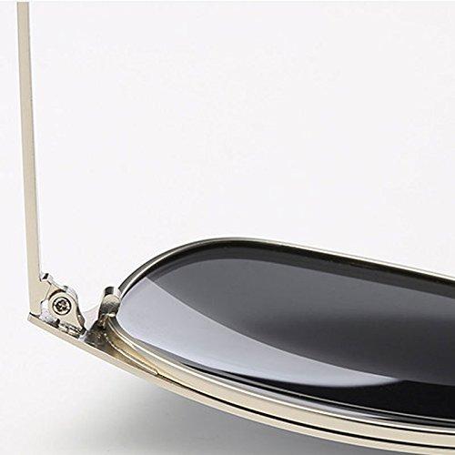 Lens Gray Black Soleil Nouveau Lens Frame Black Coloré Protection LSX Lunettes Mode LX Couleur de Unisexe extérieures Gray UV Polarisées de Frame Rétro Black Black Conduite Lunettes w1TW4Y