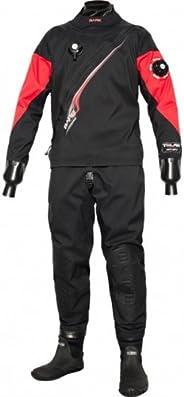 Bare Trilam Tech Dry Mens Diving Drysuit (Black, X-Large)