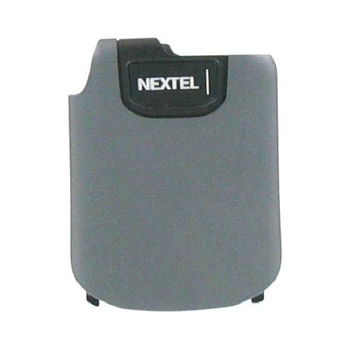 Nextel OEM IC902 Standard Replacement Battery Door - Charcoal Gray