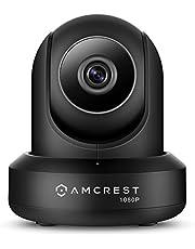 Amcrest ProHD 1080P WiFi Wireless IP Security Camera - 1080P (1920TVL), IP2M-841 (Silver), Works with Alexa