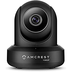 Amcrest IP2M-841 ProHD 1080P (1920TVL) Wireless WiFi IP Camera, Black