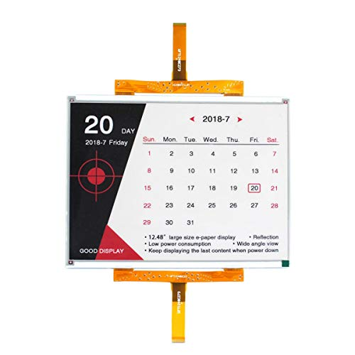 GooDisplay 12.48 Inch Color Large E-Paper Screen Eink Display Electronic Paper Display Panel Black White Red by GooDisplay (Image #6)