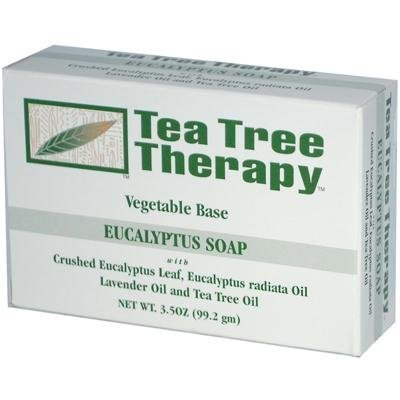 Eucalyptus Bar (Tea Tree Therapy Vegetable Base Bar Soap, Eucalyptus, 6)