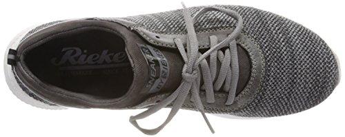 asphalt Basses rauch Eu Marine Sneakers Bleu grey Homme Rieker Gris B5051 40 vwqxHvnC