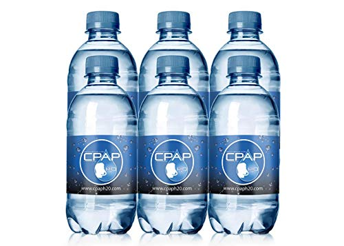 12oz CPAP H2O Premium Distilled Water (6 Bottle Pack) by CPAP H20