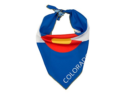 Colorado Flag Dog Bandana In 2 Sizes - Logo Dog Bandana
